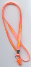 Injected pvc lanyard