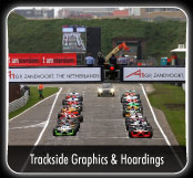 Trackside graphics & hoardings